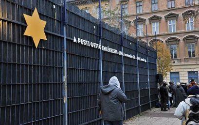 A kormány tiszteleg a budapesti gettó áldozatainak emléke előtt