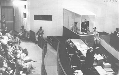 Egy kukában leltek az Eichmann-per anyagaira