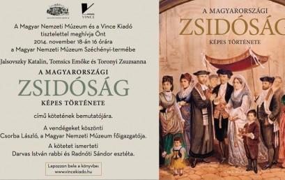 Ma délután könyvbemutató a Magyar Nemzeti Múzeumban