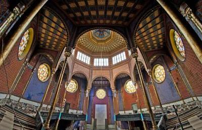 A BZSH elöljáróság határozata a Rumbach Sebestyén zsinagóga felújításáról