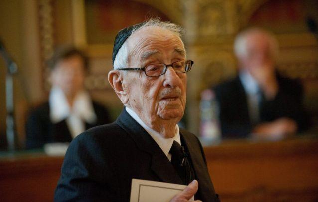 Ma lenne 99 éves Schweitzer József főrabbi
