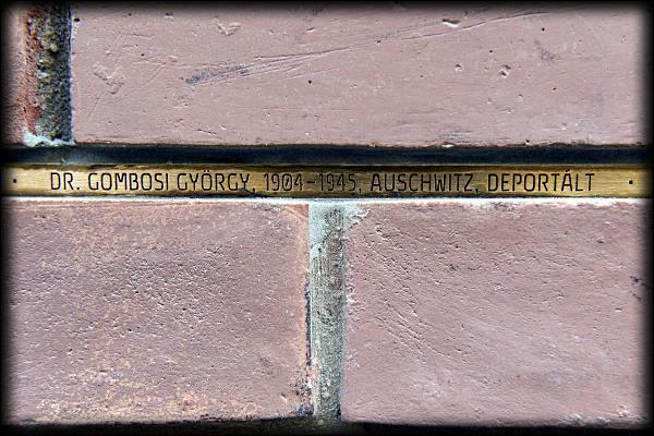 Emléket állítottak az ELTE-n a holokauszt áldozatainak