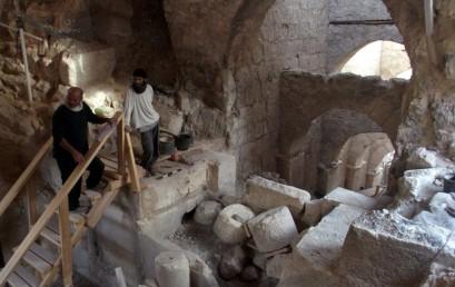 Nagy feldedezés Herodes egykori palotájában