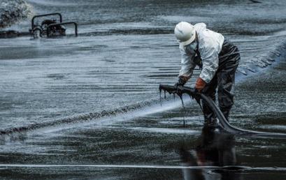 Óriási olajkatasztrófa történt Izrael határában