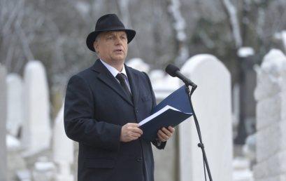Orbán Viktor: A magyar zsidóság a magyar nemzet része