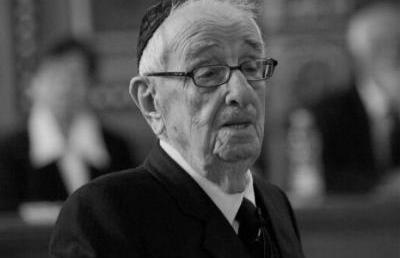 Emlékezzünk! Két éve hunyt el dr.Schweitzer József főrabbi