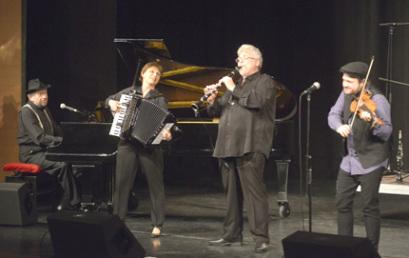 Szekszárdon adott koncertet a Budapest Klezmer Band