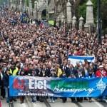 Jövőhét vasárnap Élet Menete Budapesten