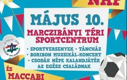 Májusban Családi- és Sportnap a Marczibányi téren!