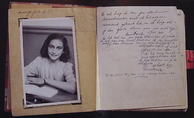 Videóban mutatják be Anne Frank naplóját a Youtube-on