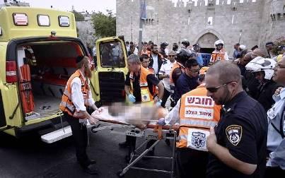 Késeléses támadás Jeruzsálemben
