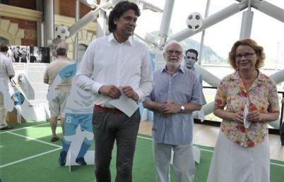 Kiállítás nyílt nemzetközileg elismert magyar-zsidó labdarúgókról és edzőkről
