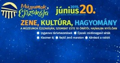 Június 20-án Múzeumok Éjszakája!