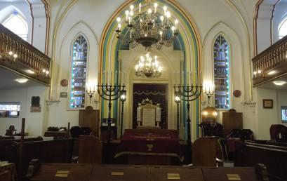 Izrael békéjéért imádkoztak a Frankelben