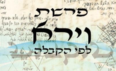 Következő hetiszakaszunk: Vájéró (וַיֵרָא)