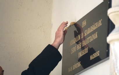 Az 1956-os forradalom zsidó hősi halottaira emlékeztünk