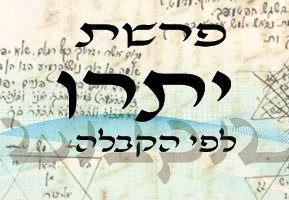 Következő hetiszakaszunk: Jitró (יִתְרוֹ)