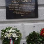 Felavatták Kézdy György emléktábláját a Klauzál téren