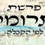 Következő hetiszakaszunk: Törúmó (תְּרוּמָה)