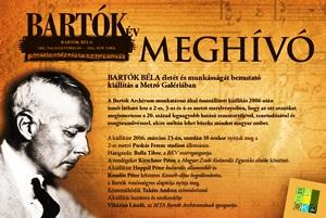 Ismét megtekinthető a Bartók-kiállítás a metróban