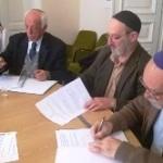 Együttműködési megállapodást kötött a Szombathelyi Zsidó Hitközség és a Hegedűs Gyula utcai körzet