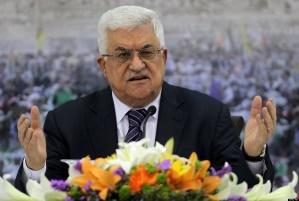 A palesztin elnök kész újra tárgyalóasztalhoz ülni Netanjahuval