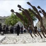 Fónagy János: méltó helyen állítottak emléket a munkaszolgálatosoknak
