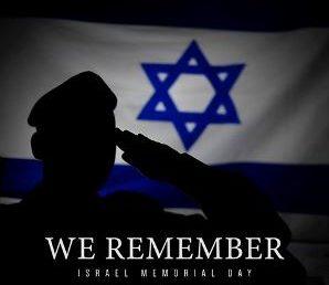 Izrael elesett katonáira és a terror áldozataira emlékezünk