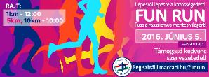 Vasárnap Fun Run futóverseny a régi zsidónegyed utcáin