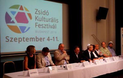 Szeptemberben Zsidó Kulturális Fesztivál Budapesten