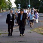 Fáklyás vonulással emlékeztek meg az Újpestről elhurcolt zsidóságra