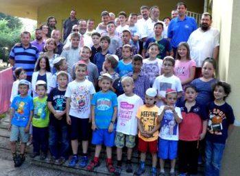 Remek focitábort szervezett a BMC és a Dózsa körzet Balatonfüreden