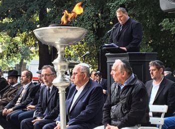 Mártírjainkra emlékeztünk a Kozma utcai temetőben