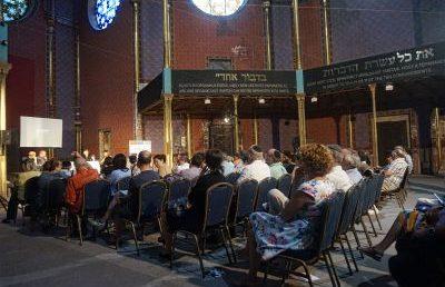 A Rumbach zsinagóga jövőjéről indult beszélgetés-sorozat