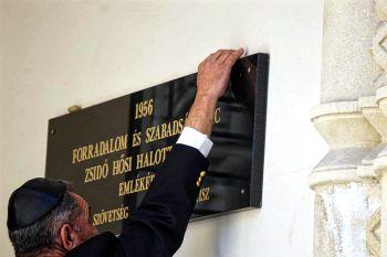 Ismét közös megemlékezés lesz a szabadságharc zsidó hősi halottaira