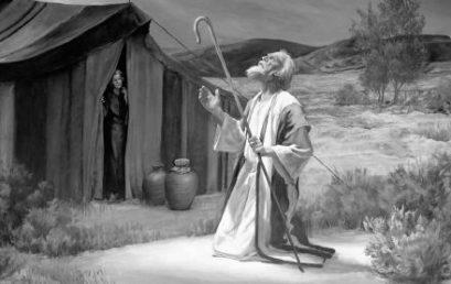 Hetiszakaszunkhoz kapcsolódóan: Ábrahám az első hittérítő