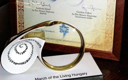 Decemberben ismét átadják az Élet Menete Alapítvány Kézdy György-díját