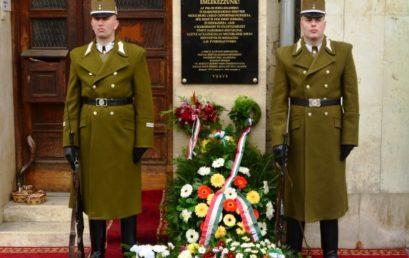 A magyar zsidó szabadságharcosokra emlékeztek