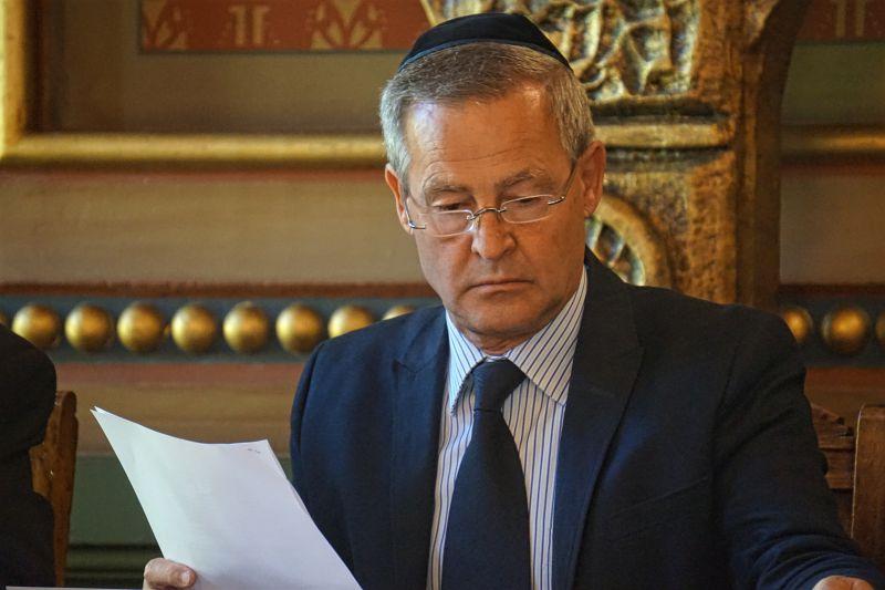 A Budapesti Zsidó Hitközség elnökének újévi köszöntője