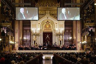 Fantasztikus koncertet adott Daniel Barenboim és a Budapesti Fesztiválzenekar a Dohányban