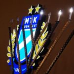 Történelmi hanuka gyertyagyújtás az MTK stadionjánál