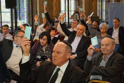 Vasárnap Mazsihisz közgyűlés a Síp utcában