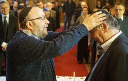 Hetvenedik születésnapján köszöntötték a BZSH és a Mazsihisz ügyvezető igazgatóját