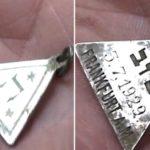 Anna Frank medáljának hasonmására bukkantak a sobibóri ásatáson