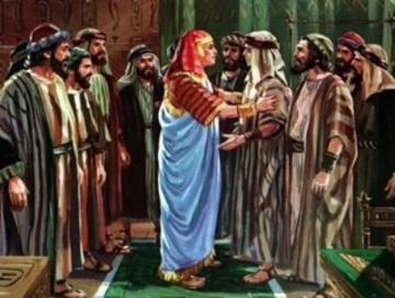 Vájigás (וַיִּגַּש) hetiszakaszának háttere