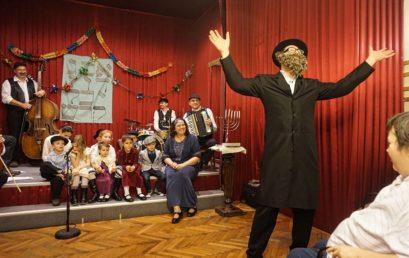 Jiddis Színház a Goldmarkban január közepén