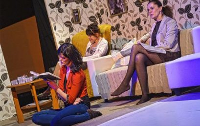 """A Gólem Színház """"Anyám mondta"""" című előadását élvezhették a nézők a Bálint Házban"""