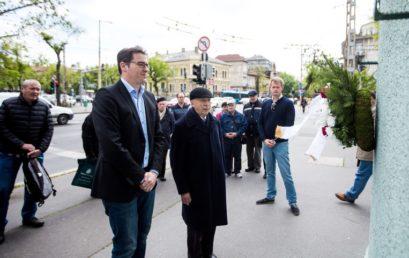 Zuglóban is megemlékeztek a holokauszt áldozatairól