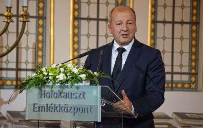 Holokauszt Emléknapi megemlékezést tartottak a Holokauszt Emlékközpontban