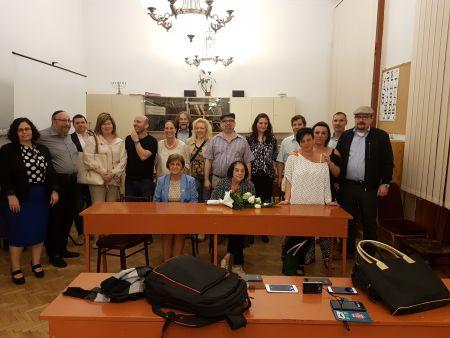 Huszonöt éves érettségi találkozót tartottak a korábbi Anna Frankos diákok
